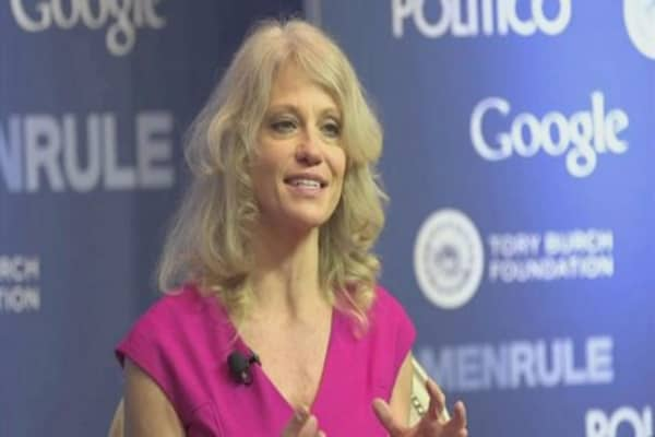 Conway's product plug alarmed a White House ethics lawyer