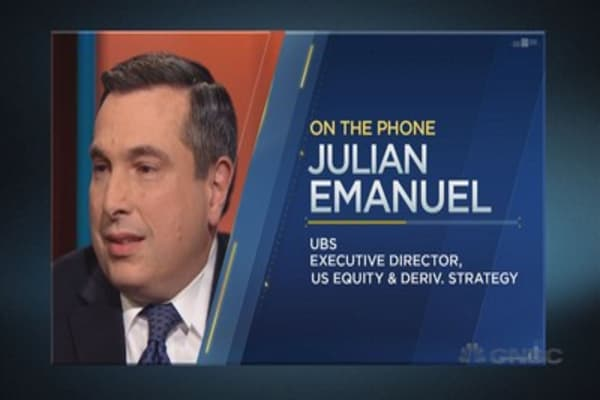 Julian Emanuel: Volatility spike ahead