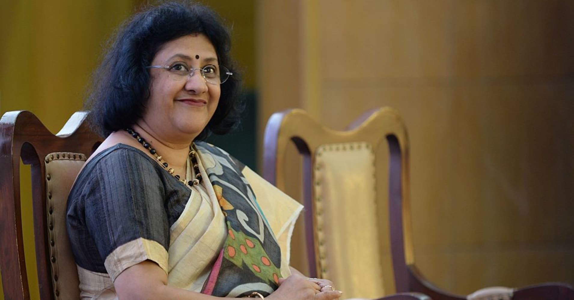 Chairperson of the State Bank of India (SBI), Arundhati Bhattacharya