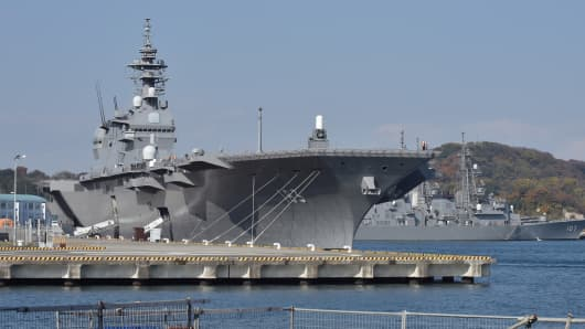Japan to Send Its Largest Warship to South China Sea