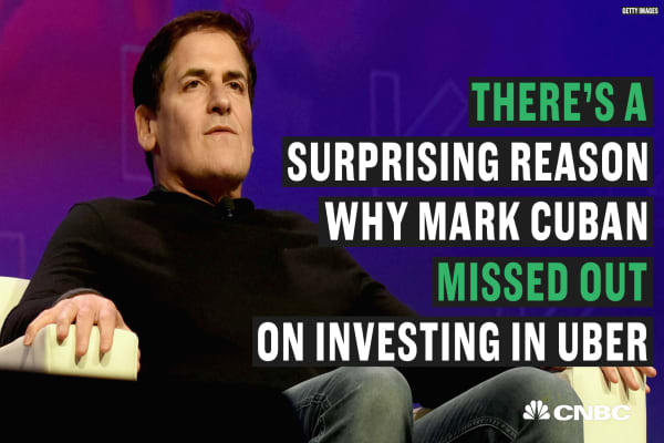 Image result for Mark Cuban: Why I regret not investing in Uber