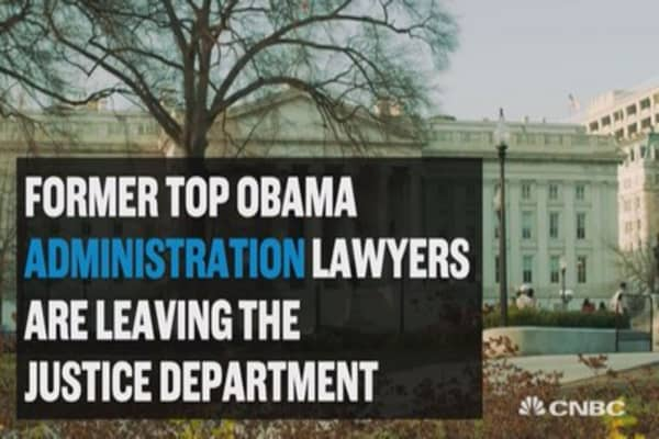 Attorneys leaving DOJ to work for anti-Trump causes