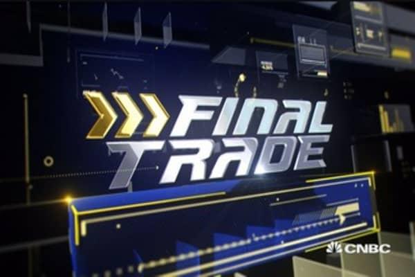 Final Trade: JPM, INTC & more
