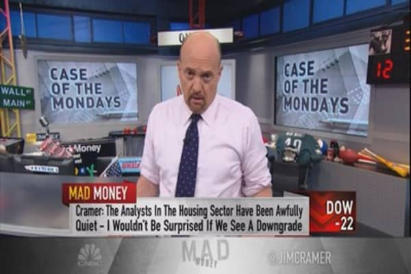 Cramer prepares for a market backlash not seen since 2006