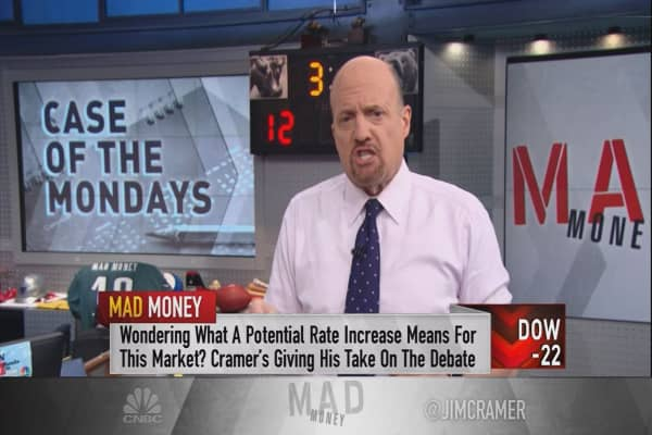 Cramer preps for a big market backlash