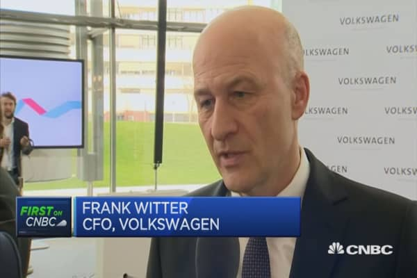 Emissions repair process different in US and Europe: Volkswagen CFO