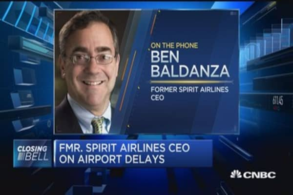 Fmr. Spirit Airlines CEO on airport delays