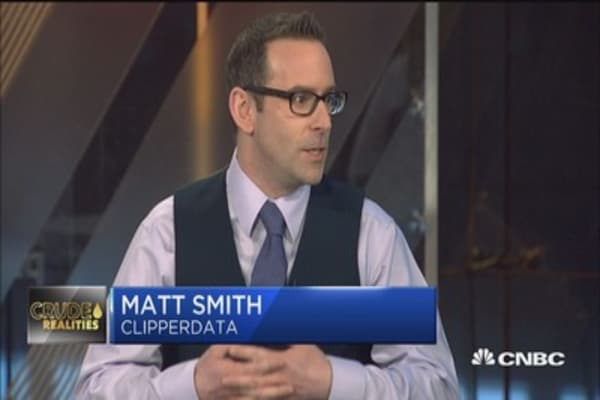 Matt Smith: US inventory at record highs