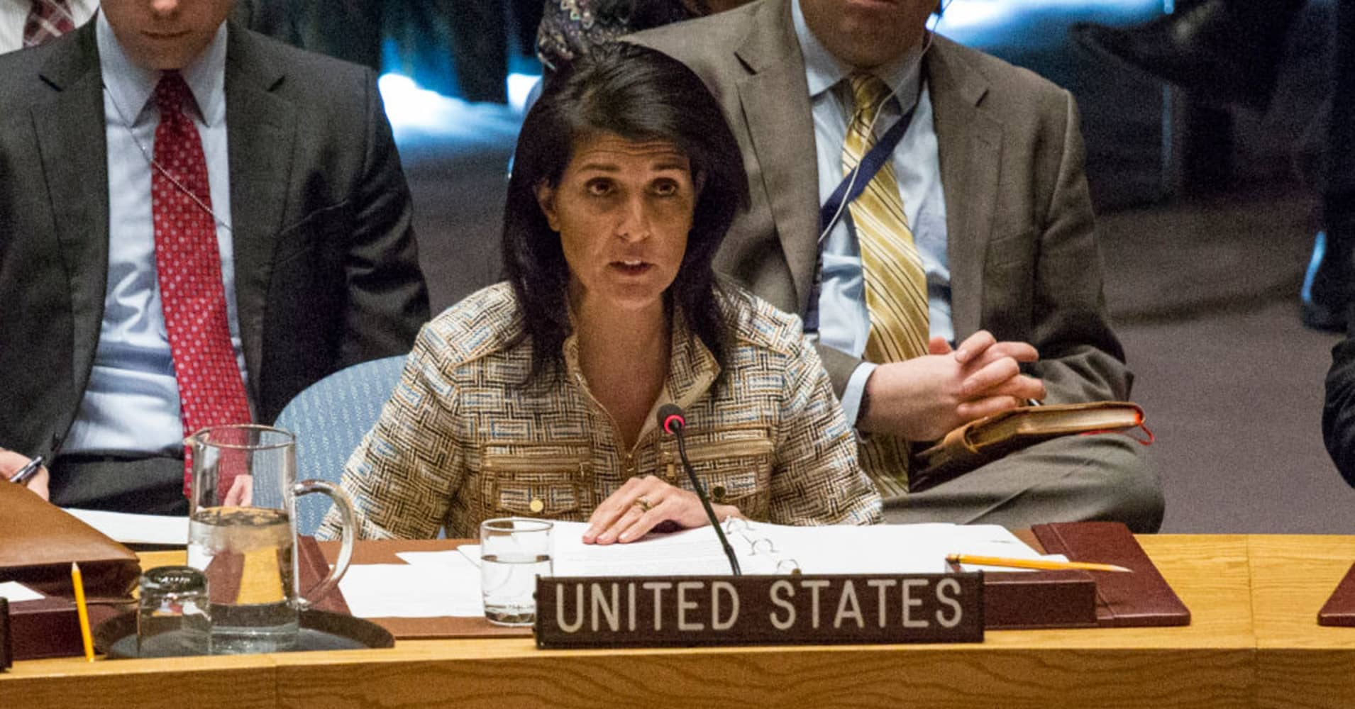 UN Ambassador Nikki Haley: 'We should never trust Russia'