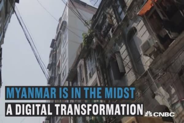 Myanmar's digital transformation