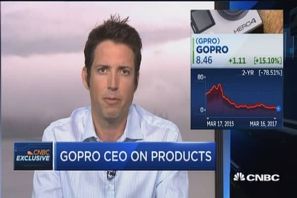 GoPro CEO: We're refocusing on serving our customer and nothing else