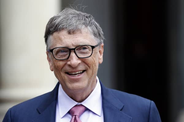 Bill Gates, the co-Founder of the Microsoft company and co-Founder of the Bill and Melinda Gates Foundation.