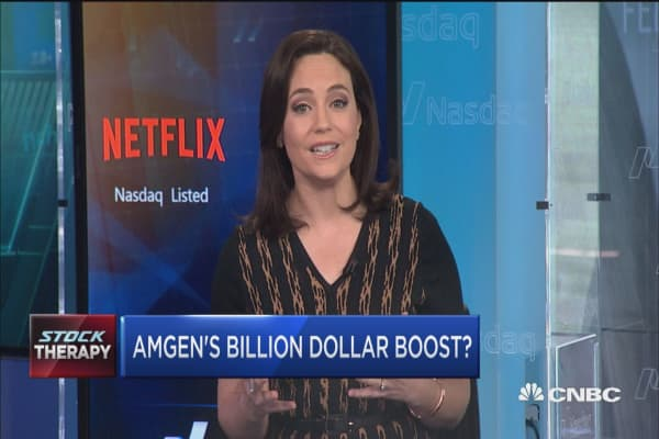 Billion dollar boost for Amgen?