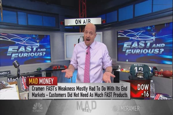 Cramer: This Trump stock is exactly what's working in the economy right now