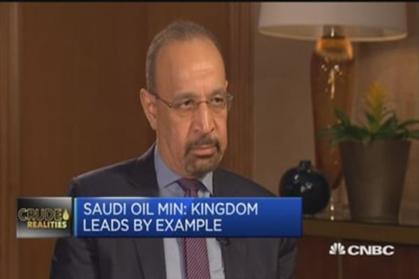 Saudi oil min: Cuts are learning process for some countries
