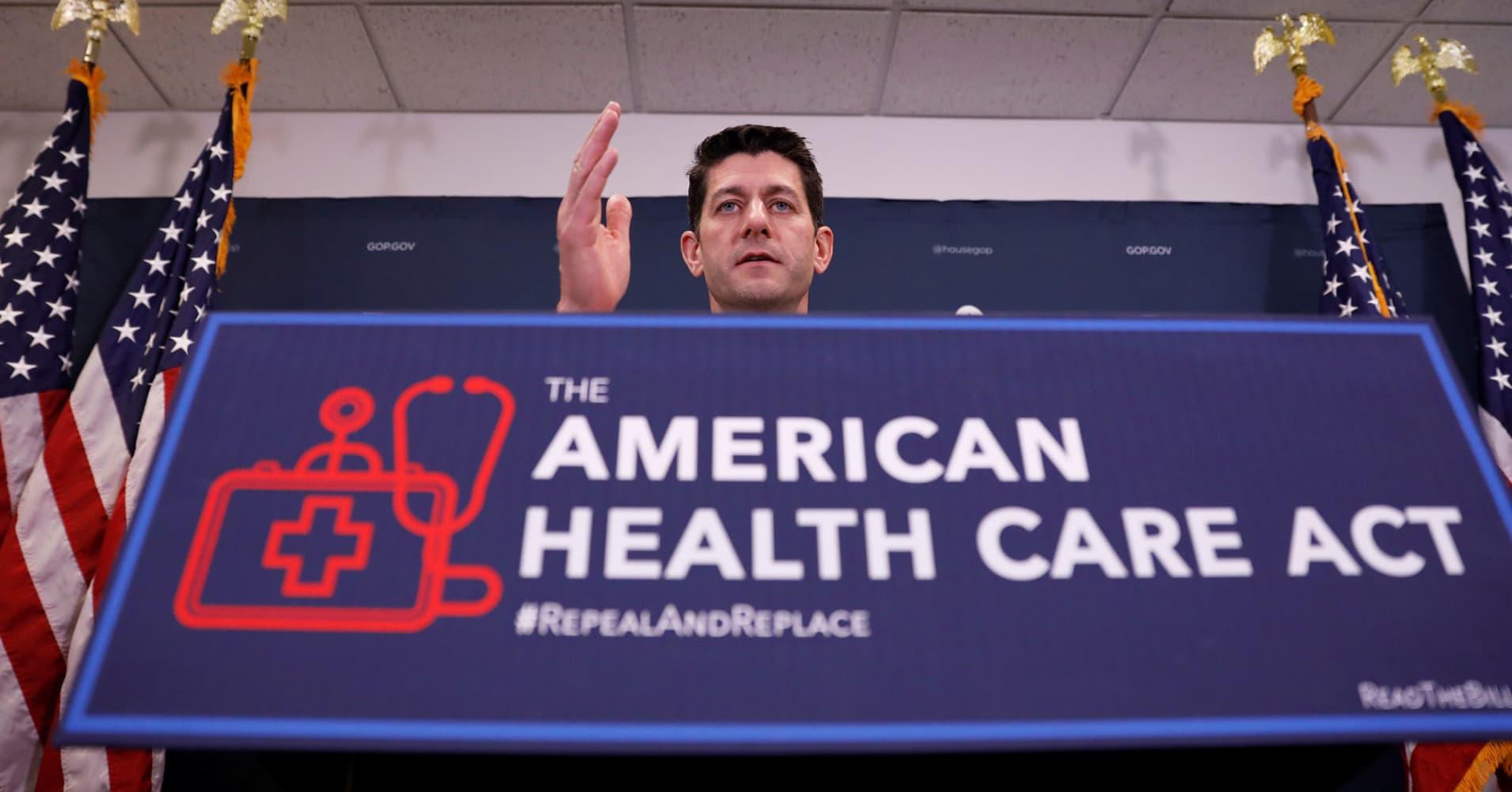 Op-Ed: Paul Ryan's office is gaslighting America on the health-care bill
