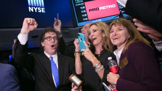 ProPetro IPO at the New York Stock Exchange, March 17, 2017.