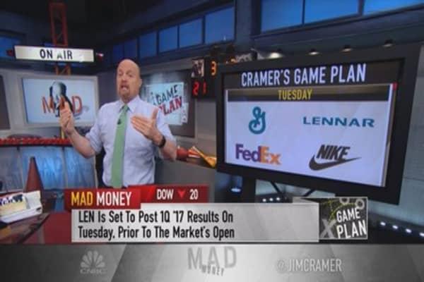 Cramer's game plan: Defaulting to individual stocks as the bulls run the market