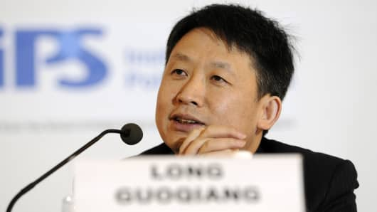 Long Guoqiang, vice president at the Development Research Center of China's State Council.