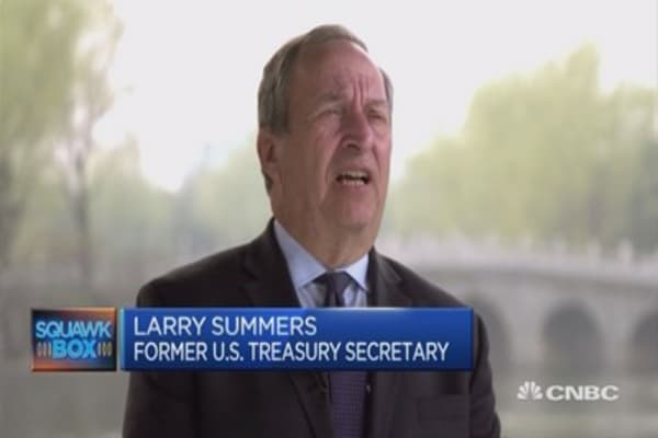Larry Summers on China's economic growth