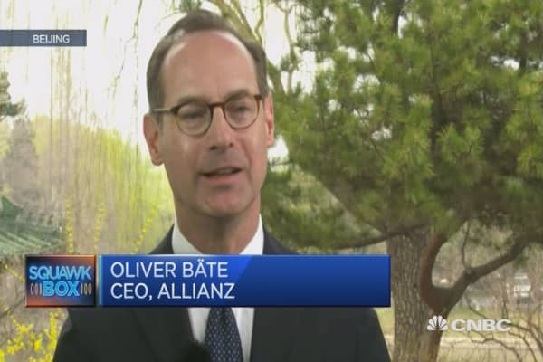 Insurance growth in China to be double-digits: Allianz CEO
