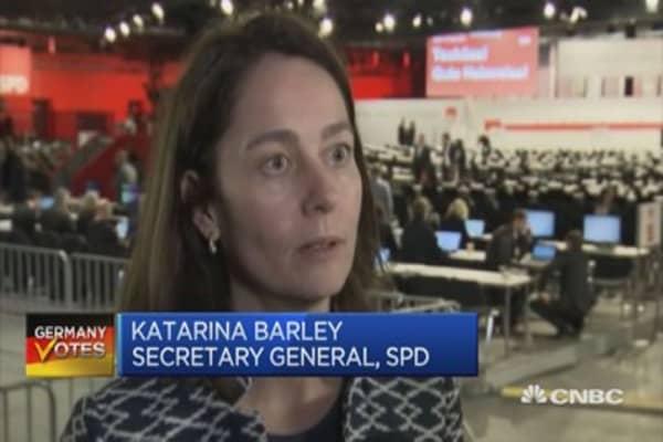 Remarkable euphoria sweeping across social democrats for Martin Schultz