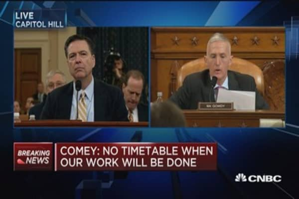 Comey: The culture of the FBI is 'obsessive' about FISA