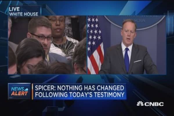 Spicer: President is entitled to a bit of privacy