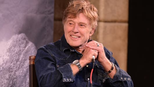 Sundance Institute President Robert Redford during the Day One Press Conference for 2015 Sundance Film Festival on January 22, 2015 in Park City, Utah.