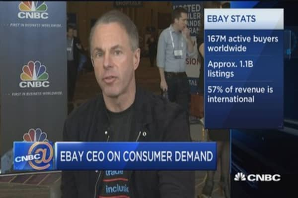 Restructuring of retail will happen faster than people think: eBay CEO