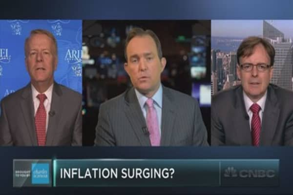 Will rising inflation catch investors offside?