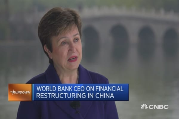 World Bank CEO on China's economic reforms
