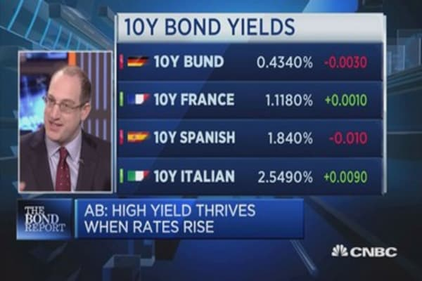 he Fallacy of rising rates and bonds: AllianceBernstein