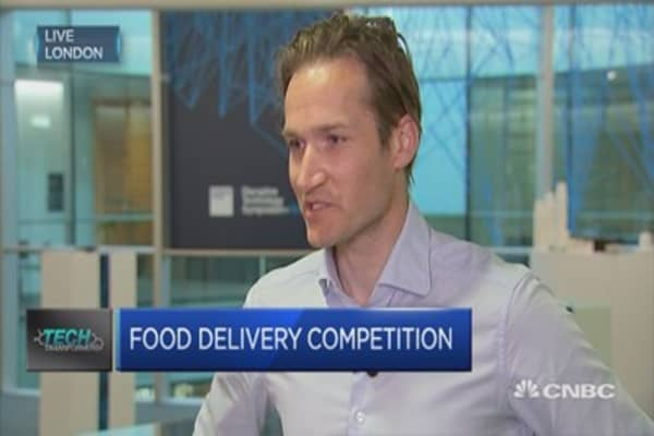 Tremendous growth for Delivery Hero