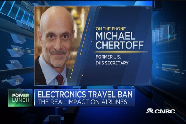 Fmr. DHS secretary on electronics travel ban