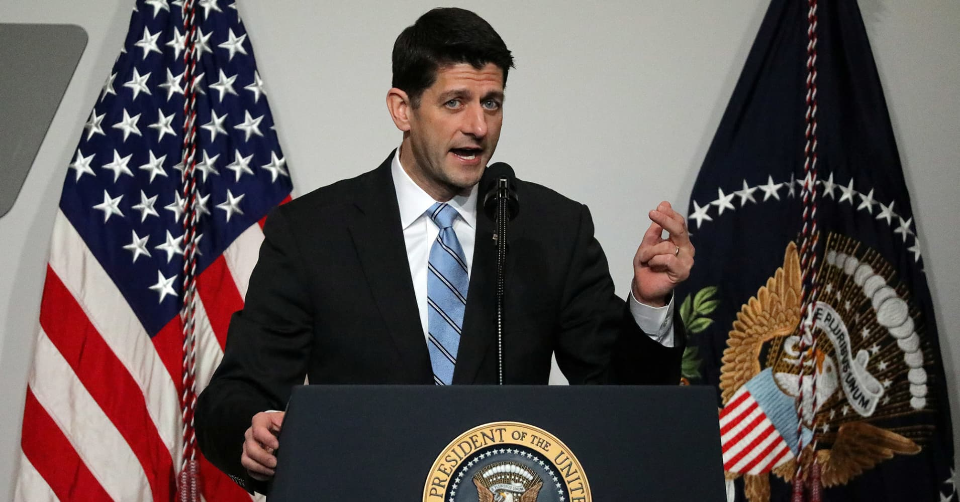 Watch: Paul Ryan and GOP House leadership hold news conference