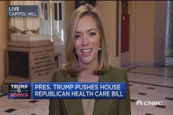 President Trump pushes House Republican health care bill