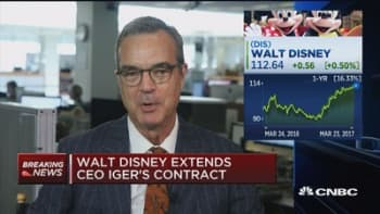 NYT's Stewart: Disney still facing deadline for Iger successor with no obvious heirs apparent