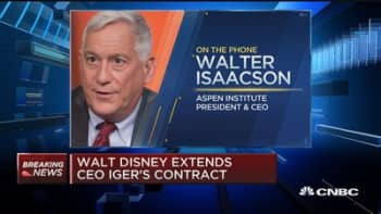 Isaacson: Iger announcement the 'most expected news'
