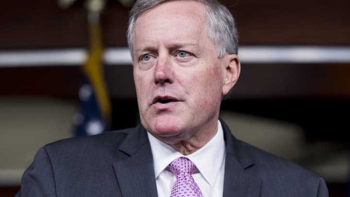 Rep. Mark Meadows, R-N.C., chair of the House Freedom Caucus.