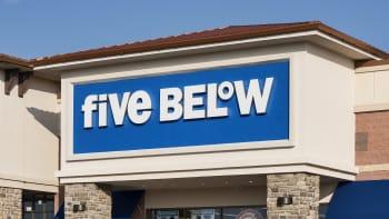 Five Below store.