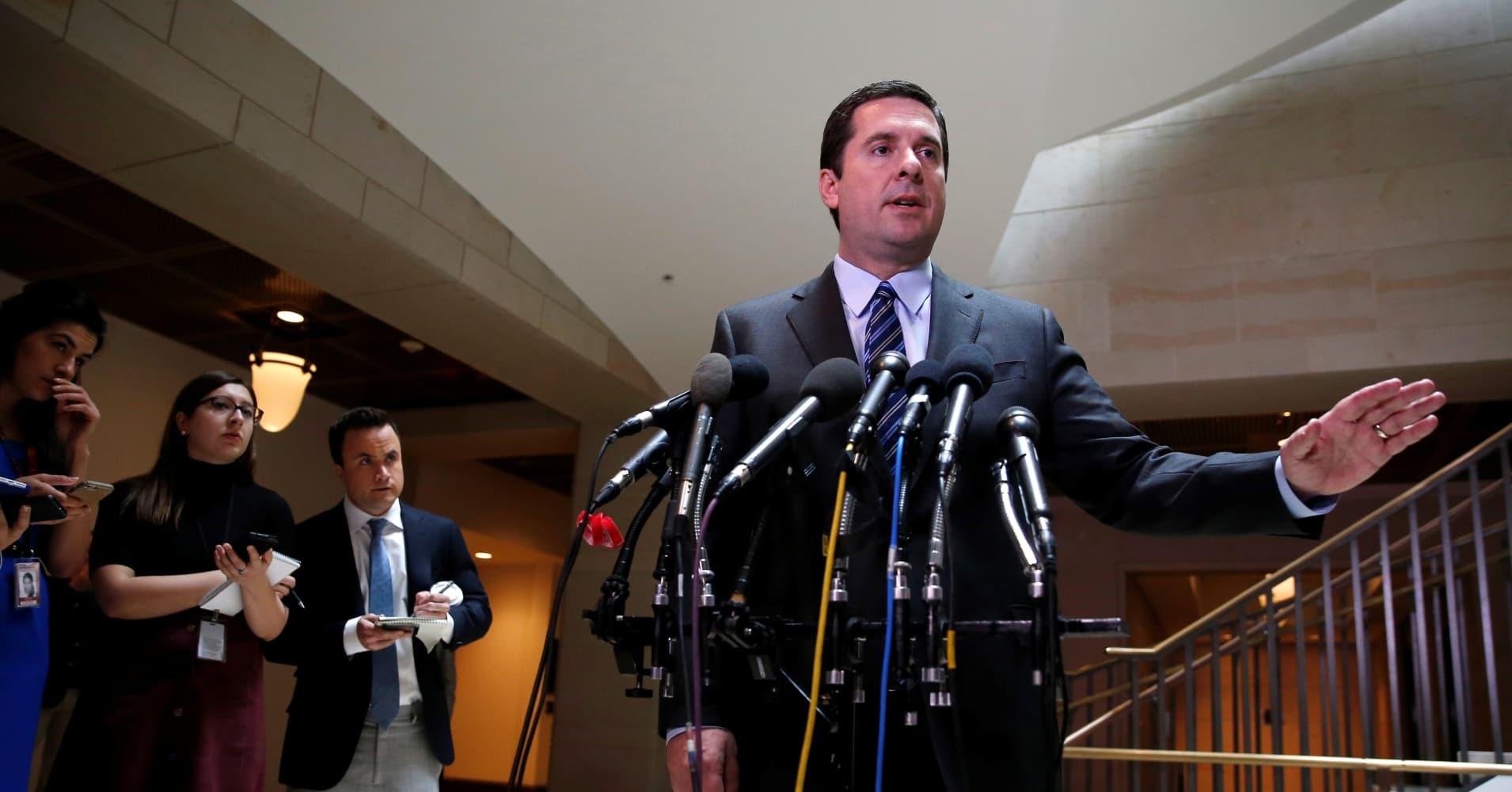 Intel chair Nunes backs down from assertion Trump was monitored