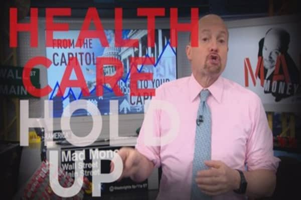 Cramer Remix: The health care defeat can be a blessing for Wall Street