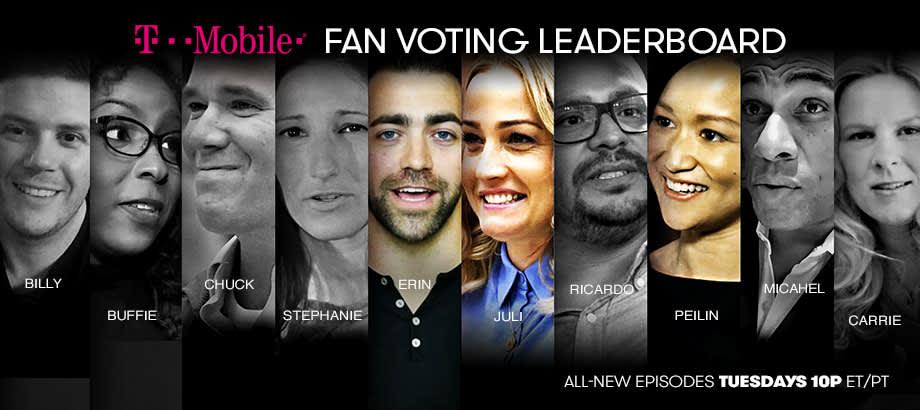 The Partner contestant leaderboard page header image