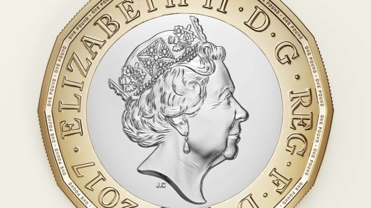 British pound coin introduced in March 2017