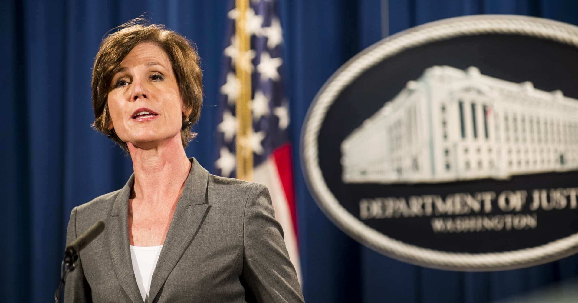 Trump is going after Sally Yates before she starts her testimony on Flynn and the Russians
