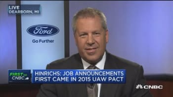 Ford President of the Americas: We've announced $1.9B of new investment in the state of Michigan