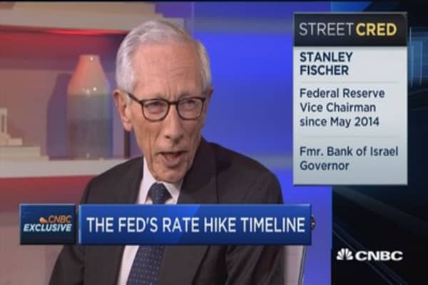 Fed's Fischer: 'Wait and see' is sensible stance for Fed