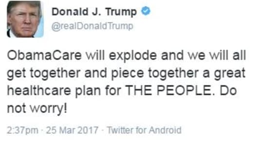 President Trump Now Uses an iPhone to Tweet
