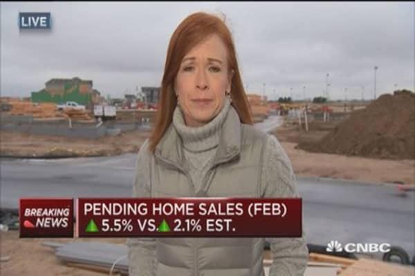 Home production levels down despite growing demand